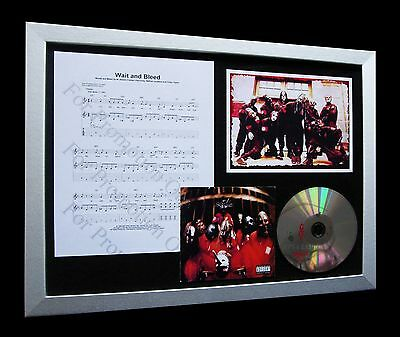 SLIPKNOT - WAIT And Bleed 3 Track CD Single + Video (Compact Disc E