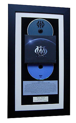 DREAM THEATER Same CLASSIC CD Album GALLERY QUALITY FRAMED+EXPRESS GLOBAL SHIP