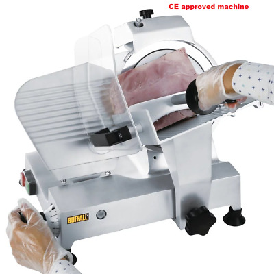 Buffalo CD277 Heavy Duty Commercial Electric Meat Slicer 220mm Blade