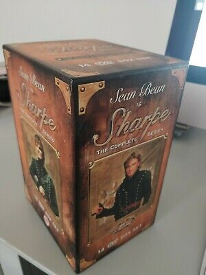 Sharpe - Complete (DVD, 2002, 14-Disc Set, Box Set) Sean Bean. VGC