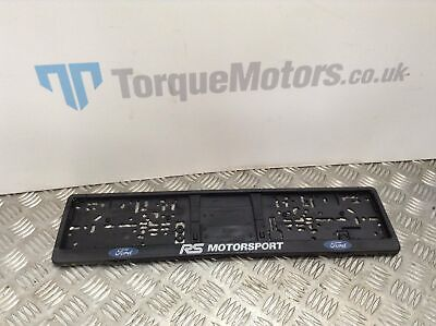 Ford Focus RS Mk3 Number plate surround case