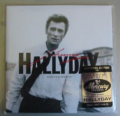 Johnny Hallyday (Cd) Rock N Roll Attitude Tirage Limite 2018  Neuf