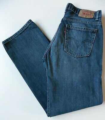 Boys' Men's Levis 505 Straight Leg Jeans W29 L29 Blue Levi Strauss Size 29S