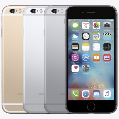 Apple iPhone 6 16GB 32GB 64GB Unlocked AT&T T-Mobile Verizon Gray Silver Gold