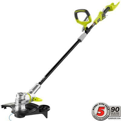 Ryobi String Trimmer Edger Cordless 40-V Lithium-Ion Variable Speed Tool Only