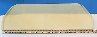 Rowe/Ami Cd Jukebox Cd100C Title Pages Upper Light Diffuser #61062401 (Part)