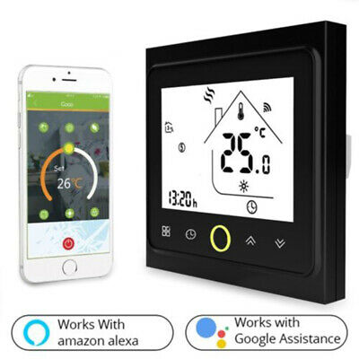 Wi-Fi Smart Thermostat For Water Heating Electric Floor Heating Gas Boiler Easy
