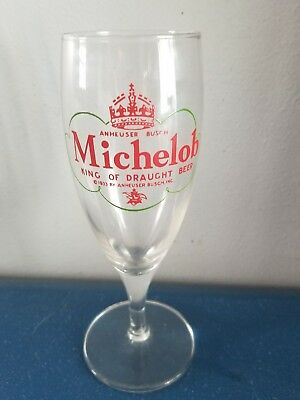 (VTG) 1933 Michelob King Of Draught Beer Glass Anheuser-Busch bud bar rare