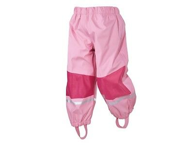 Lupilu Waterproof Rain Trousers Age 12-24 Months Euro 86/92 Pink Fleece Lined