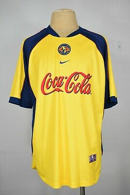 f5cd99185 NIKE VINTAGE AMERICA Soccer Club Jersey Mexico Size Large -  29.99 ...