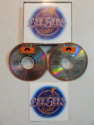 Bee Gees Greatest Pre-Owned 20 Trk 2Cd 1990 Polydor U.s. Press Vg+ Brothers Gibb