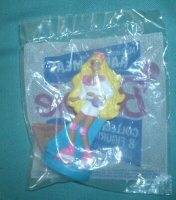 1991 Mc Donalds Happy Meal'  Rollerblade  Barbie-Mib