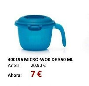 Oferta 50%!!! Arrocera 550Ml Tupperware. Arroz Para 2 Personas En 5 Min.