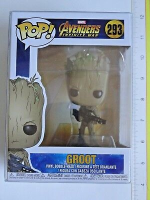Funko Pop! Marvel #293 Avengers Infinity War GROOT Vinyl Figure