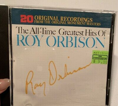 Roy Orbison The All-Time Greatest Hits CD