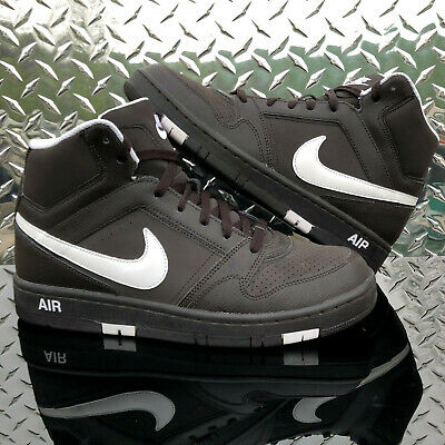 newest ce6dd 2ad10 Nike Air Prestige III Mens Size 9.5 High Top Brown Leather Sneaker  407036-212