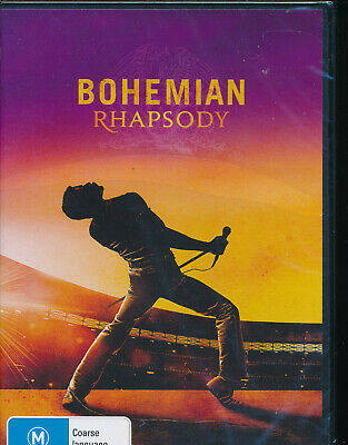 Bohemian Rhapsody DVD NEW Region 4 Queen Freddie Mercury story