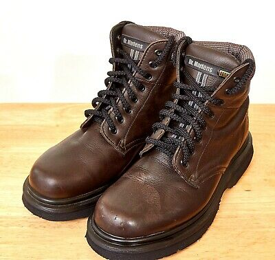 7c176490b65 DR MARTENS DM'S Goodyear Welted Hiking Boots Shoes Brown Leather ...