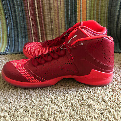 a3d99044a1ab Air Jordan Nike Super Fly 4 PO Basketball Shoe Red   White - Infrared 23  Size