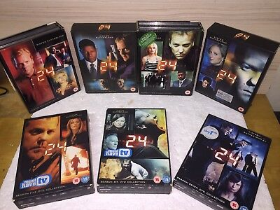 Dvd Movies Collection 24 Series 1-7 Seasons
