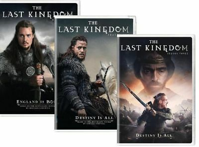 The Last Kingdom Complete Historical TV Series All 1-3 Season DVD Set Collection
