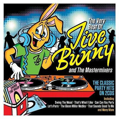 Jive Bunny and The Mastermixers - Very Best Of CD (2) Notnow NEW