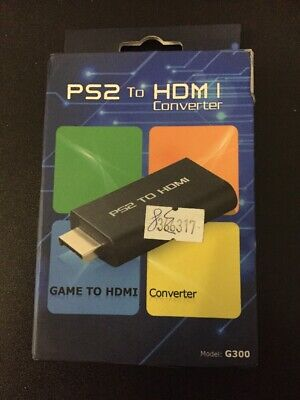 PS2 To HDMI CONVETER model G300 New