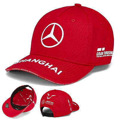 2019 Mercedes-AMG Lewis Hamilton China GP Cap Red 2019 F1 Grand Prix Special Edi
