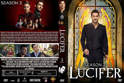 Lucifer Stagione 3 In Italiano Cofanetto Serie Tv Completa