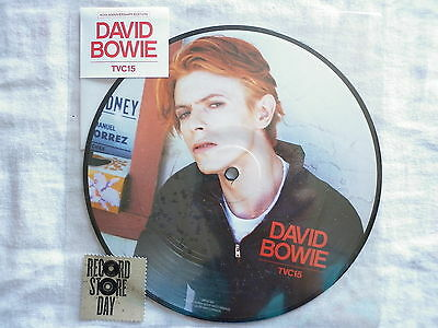 David Bowie 45Tours vinyle picture disc TVC15 + Wild Is The Wind disquaire day