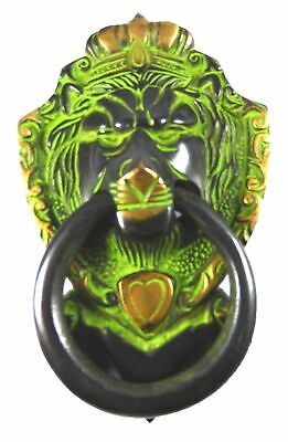 Lion Shape Door Knob Antique Vintage Style Handcrafted Brass Door Knocker Pull