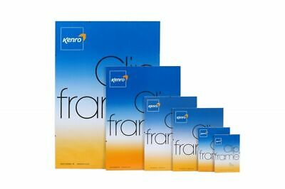 Kenro Clip Frames Ideal for Photo Pictures, Posters, Certificates, Presentations