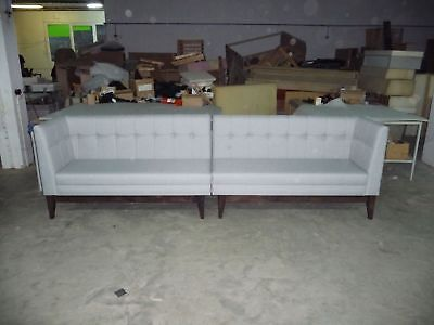Vintage bench sofas for restaurants, hotels, clubs. Various colours available
