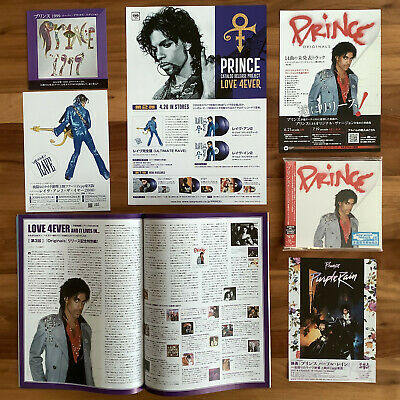 "JAPAN ONLY BONUS TRACK + PROMO POSTCARD + 3x FLYERS! PRINCE ""ORIGINALS"" CD 2019"