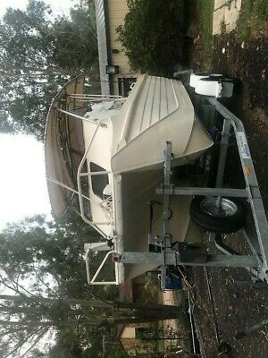 Webster Twinfisher cuddy cab boat