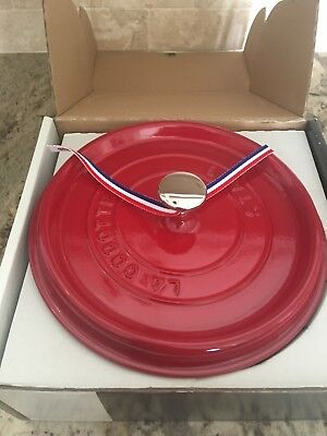 Staub Cherry Color Cast Iron French Cocotte Dutch Oven 4 Qt  PERFECT GIFT
