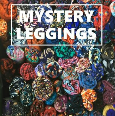 LuLaRoe TWEEN  NWT New leggings Mystery Solid And Pattern