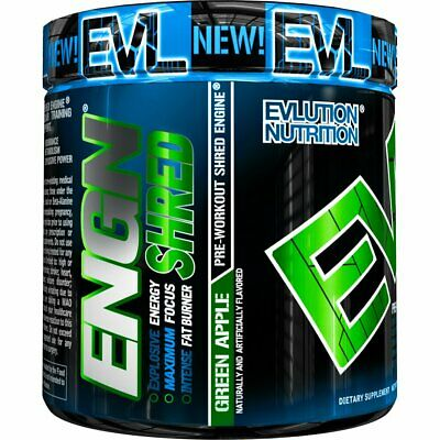 Nutrition ENGN Shred Pre Workout Thermogenic Fat Burner Powder Energy Weight Los