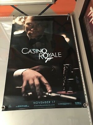 Casino Royale Ds Glossy Rolled Adv Orig 1Sh Movie Poster James Bond Ds 27 X 40