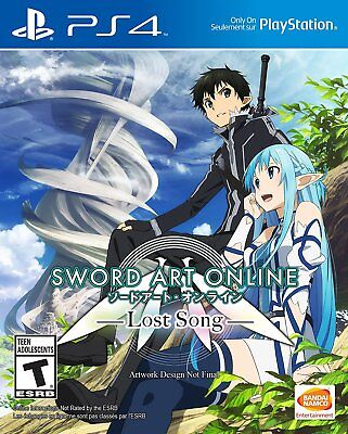 Sword Art Online Lost Song PS4 NEW SEALED DISPATCHING TODAY ALL ORDERS BY 2 P.M.
