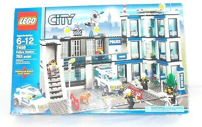 Lego Town Plan 10184 Empty Box Lego City 7498 Police Station Empty
