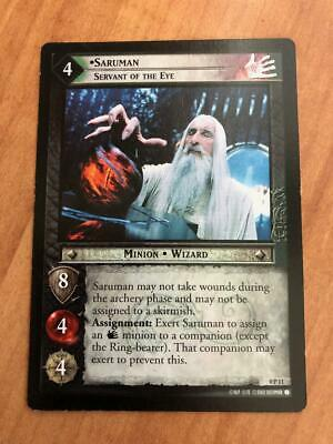 "LOTR TCG ""SARUMAN SERVANT OF THE EYE"" # 0P11 - Lord of the Rings (PROMO)"