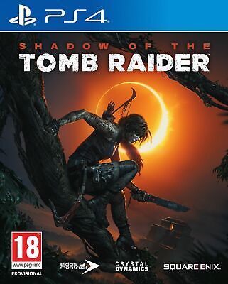 Shadow of the Tomb Raider PS4 NEW SEALED DISPATCHING TODAY ALL ORDERS BY 2 P.M.