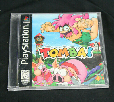Ps1 Authentic Tomba Empty Case Only playstation 1