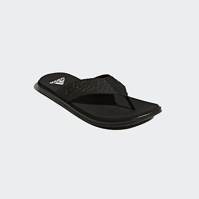 7c68268e92d9 Adidas BEACHCLOUD CLOUDFOAM Mens Sandals Slippers Slides Flip-Flops BB0503  black