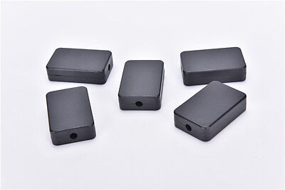 5pcs Electric Plastic Black Waterproof Case Project Junction Box 48*26*15mm  SS