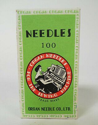 Organ Sewing Machine Needles DCx1 18 Box of 100