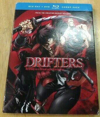 Drifters: The Complete Series [New Blu-ray] Oversize Item Spilt , With DVD,