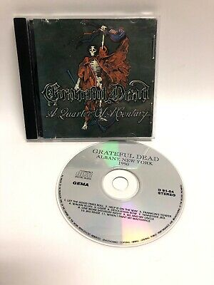 """Grateful Dead """"Quarter Of A Century"""" Live Albany Ny 1990 Cd - Unofficial Release"""