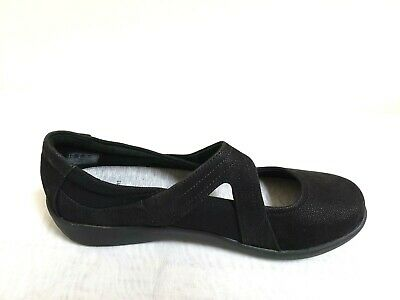 Clarks Sillian Bella Womens Black 26121457 Casual Memory Foam Slip On Shoes Clothing, Shoes & Accessories
